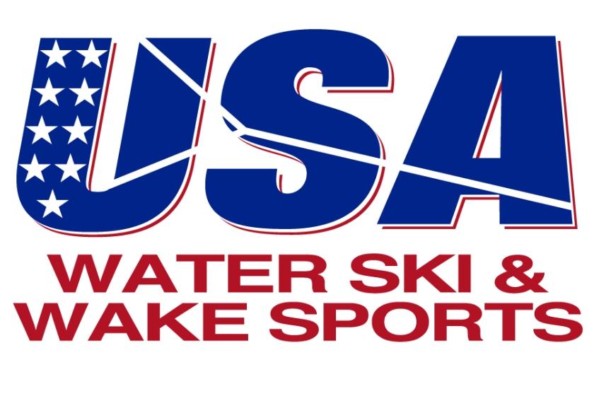 USA Water Ski And Wake Sports Logo 2018